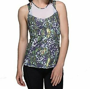 [Lululemon] Running In The City Floral Yoga Tank